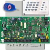 Sistem de alarma Paradox MG5050+K636+REM1