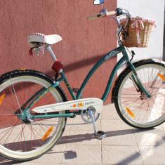 Bicicletă Electra Gipsy Cruiser3i - Bicicleta Dama, 14 inch, 26 inch, Numar viteze: 3