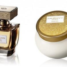 Set Giordani Gold Essenza - Parfum 50 ml, Crema corp 250 ml - Oriflame - NOU - Set parfum