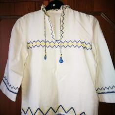 Ie baietel. Ie traditionala veche pentru copii. - Costum populare, Marime: S, Culoare: Alb