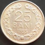 Moneda 25 Bani - ROMANIA, anul 1955  *cod 5054 --- stare buna de conservare!