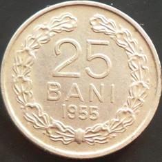 Moneda 25 Bani - ROMANIA, anul 1955 *cod 5054 --- stare buna de conservare! - Moneda Romania
