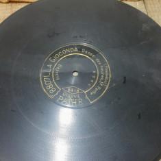 Disc, placa patefon/ gramofon// Disc Pathe - Muzica Blues, Alte tipuri suport muzica