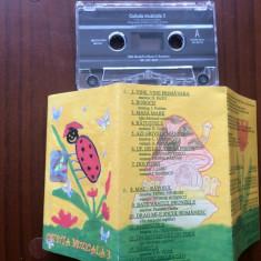 Cutiuta muzicala vol 3 caseta audio muzica melodii pentru copii pop mapa texte - Muzica pentru copii mediapro music, Casete audio