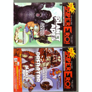 revista banda desenata Super eroi