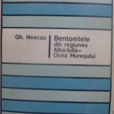 Bentonitele Din Regiunea Alba-iulia - Ocna Muresului - Gh. Neacsu, 409479 - Carte Geografie