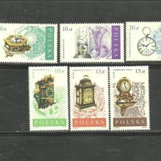 POLONIA 1988 - CEASURI DE EPOCA, serie nestampilata, A2