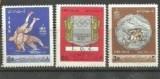 IRAN 1967 - SPORT LUPTE GRECO-ROMANE, serie nestampilata, A5, Nestampilat
