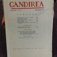 REVISTA GANDIREA NR.8/OCTOMBRIE 1937