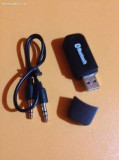 Receptor audio Bluetooth cu mufa usb suporta A2DP
