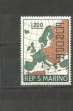 San Marino 1967/1968 - HARTA. EUROPA CEPT, timbre MNH, A3