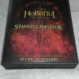 Colectie filme Stapanul inelelor si Hobbitul subtitrate in romana, DVD, warner bros. pictures