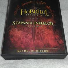 Colectie filme Stapanul inelelor si Hobbitul subtitrate in romana - Film Colectie warner bros. pictures, DVD