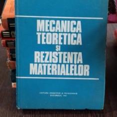 MECANICA TEORETICA SI REZISTENTA MATERIALELOR - FLORIAN VIRGILIU
