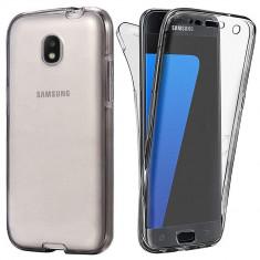 Husa Samsung J7 2017 Silicon TPU 360 Grade, Alt model telefon Samsung, Gri