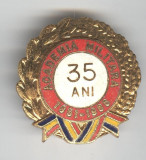 ACADEMIA MILITARA 1951 - 1986  Insigna email