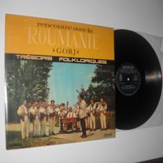 "Orchestra ansamblului ""Doina Gorjului"" din Tg. Jiu:GORJ (vinil folclor stare NM), electrecord"