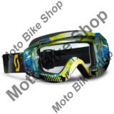 MBS Ochelari cross/enduro SCOTT Works Hustle MX culoare albastru-verde, Cod Produs: W2251023605113AU