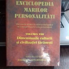 ENCICLOPEDIA MARILOR PERSONALITATI. VOL. 8 - Enciclopedie