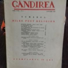 REVISTA GANDIREA NR.1/IANUARIE 1939