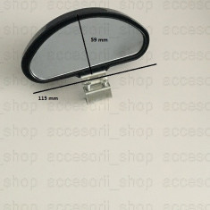 2 x oglinda exterioara suplimentara unghi mort, Universal