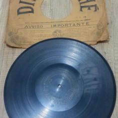 Disc, placa patefon/ gramofon// Disc Pathe, Alte tipuri suport muzica