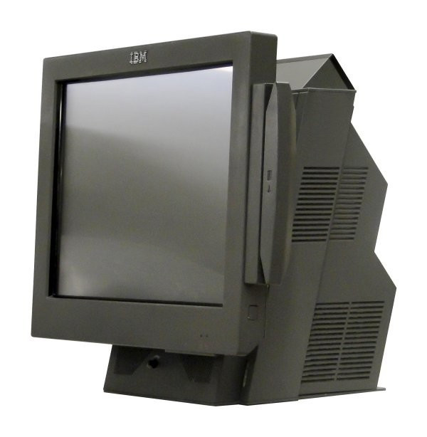 Sistem POS IBM SurePOS 4840-564, Display 15inch Touchscreen, Intel Celeron 2.0 GHz, 1 GB DDRAM, 120 GB ATA foto mare