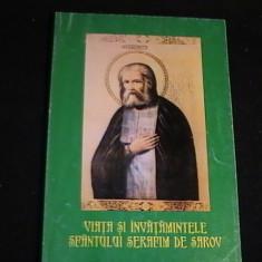 VIATA SI INVATATURILE SFINTULUI SERAFIM DE SAROV- - Vietile sfintilor