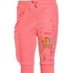 Pantaloni corai cu iepuras