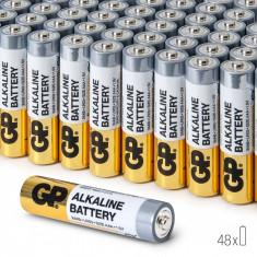 Baterii Alcaline AAA GP, R3, High-Performance, 48 buc