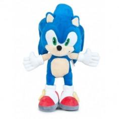 Sonic The Hedgehog, Jucarie Plus Sonic 30 cm - Figurina Desene animate
