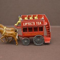 Macheta Models of Yesteryear London Horse Drawn Bus, 1:100, Matchbox