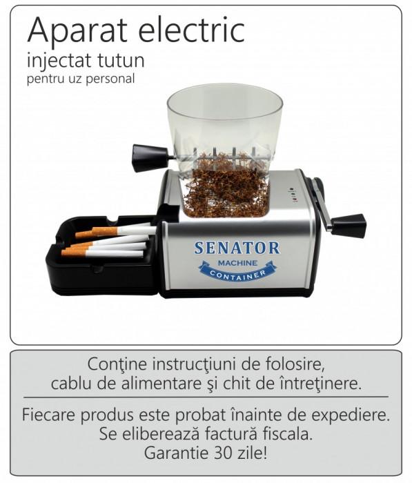 Aparat electric injectat tutun - SENATOR Container Standard
