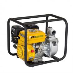 Motopompa Pro GARDEN PB225C pe 2 toli, benzina, apa curata PUTERE 5 CP - Pompa gradina, Motopompe