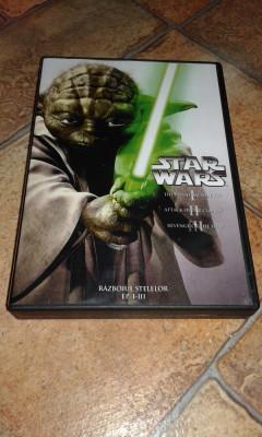 Star Wars Complete Saga - 6 DVD subtitrate romana foto