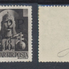 ROMANIA Ardealul de Nord 1945 Posta Salajului eroare rara Sajajului 2P / 18f MNH - Timbre Romania, Nestampilat