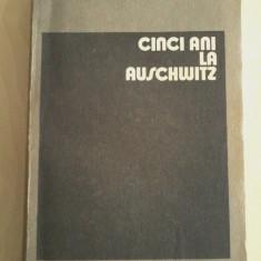 Wieslaw Kielar - CINCI ANI LA AUSCHWITZ - Biografie