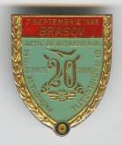 Ofiteri Activi Artilerie AA si Radiolocatie 1965-1985 Insigna MILITARA