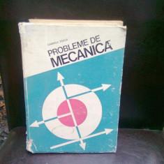 PROBLEME DE MECANICA - GABRIELA TITEICA