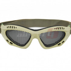 ACM ochelari de protectie simpli cu plasa Coyote - Echipament Airsoft