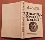 Literatura Populara Romana - M.  Gaster