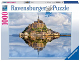 Puzzle Muntii Saint Michel, 1000 piese - VV25197