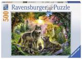 Puzzle Familia Lupilor, 500 piese - VV25178