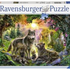 Puzzle Familia Lupilor, 500 piese - VV25178, Ravensburger