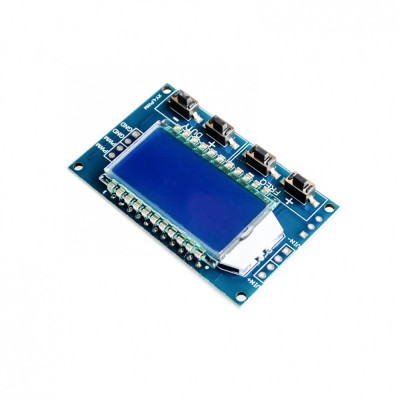 generator semnal pwm pulse frecventa duty cycle lcd display 1hz-150khz 3.3v-30v foto