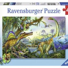 Puzzle dinozauri, 2x24 piese - VV25341, Ravensburger