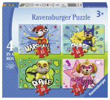 Puzzle paw, 12/16/20/24 piese - VV25326, Ravensburger