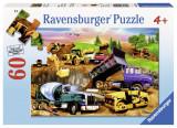 Puzzle constructie, 60 piese - VV25355, Ravensburger