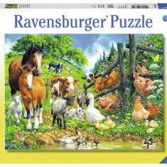 Puzzle animale, 100 piese - VV25364, Ravensburger