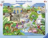 Puzzle vizita la zoo, 45 piese - VV25323, Ravensburger